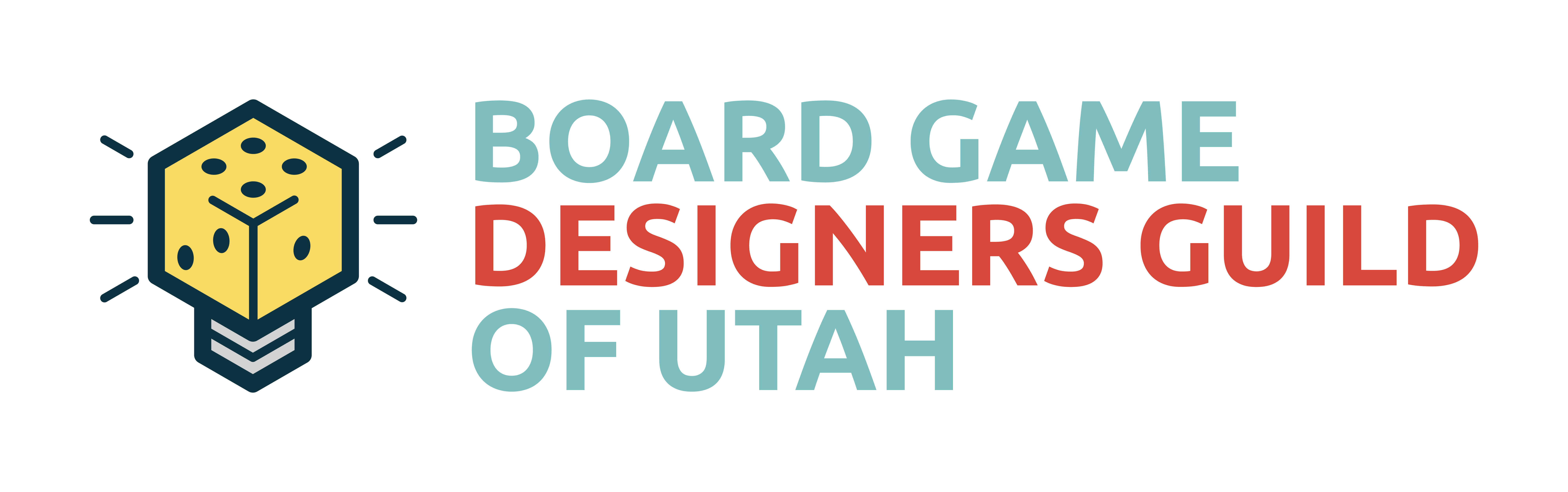 Logo for the Board Game Designers Guild of Utah